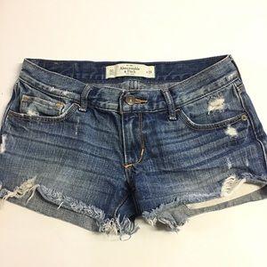 Size 24 Abercrombie & Fitch Denim Shorts